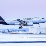 Brussels Airlines Airbus 319 - OO-SSU landing at Brussels AIrport runway 01copyright Wim Peeters