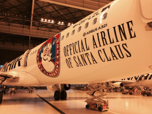 Finnair is the Official Airline of Santa Claus