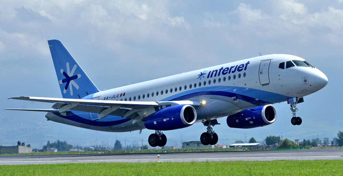 Interjet approved the purchase of 10 SuperJet 100 aircraft