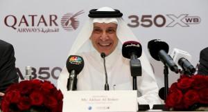 Qatar Airways Group Chief Executive, His Excellency Mr. Akbar Al Baker.