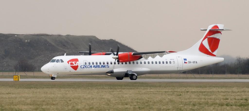 ATR72 Czech Airlines
