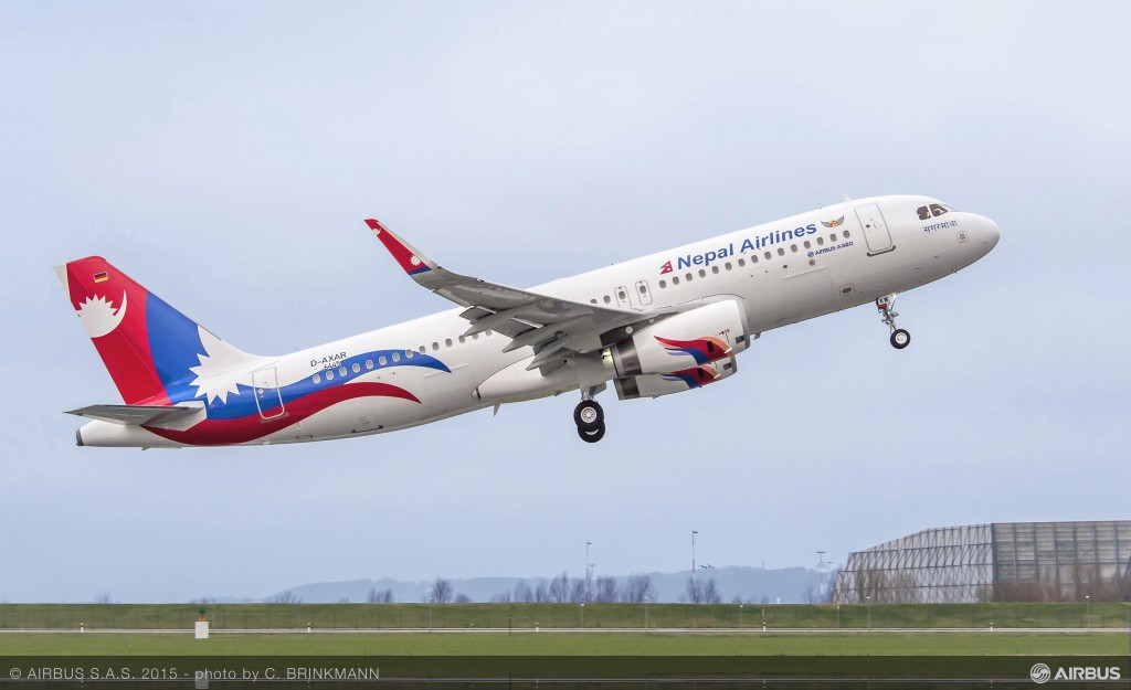 Nepal Airlines fleet renewal underway with delivery of first A320