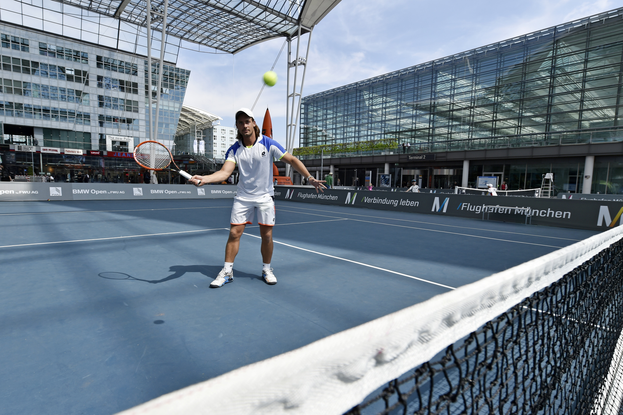 Tennis at Munich Airport