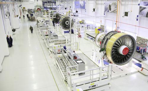 Rolls-Royce Trent-900 engine