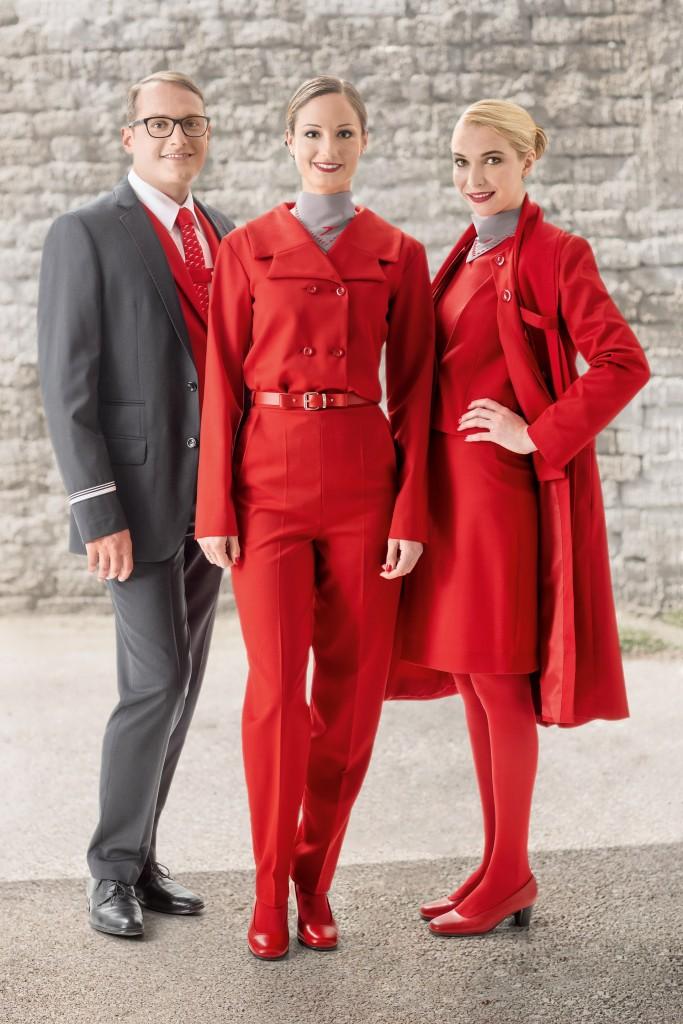 Austrian Airlines Uniform - Marina Hoermanseder 6