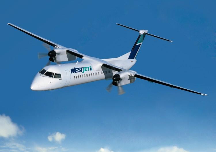 west jet q400
