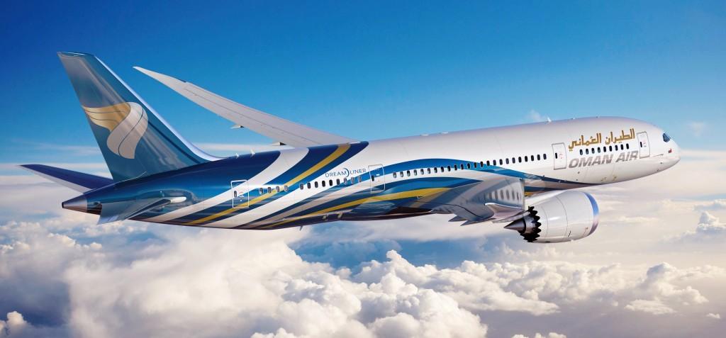 Oman Air 787 Artwork K65483