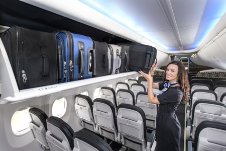 Alaska Airlines Space Bins
