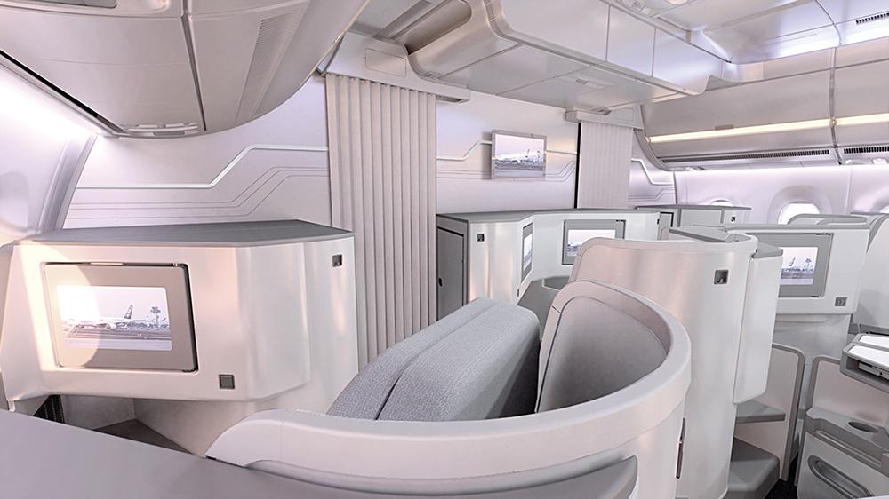 Finnair A350 XWB Business Class Cabin 04 LR
