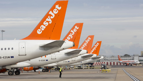 EASYJET- GATWICK AIRPORT OPERATIONS Pix:Tim Anderson