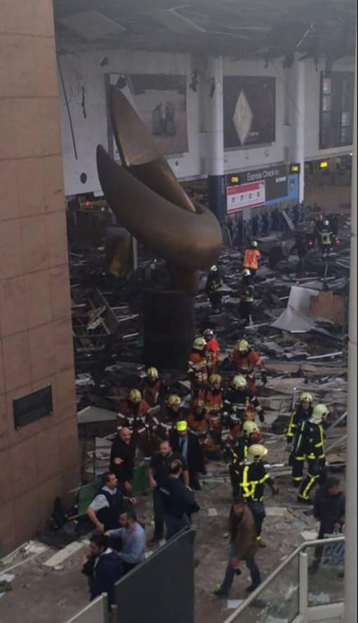 22/03/2016 Brussels Airport attacks