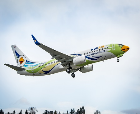 Nok Air Delivery Events and Flyaway