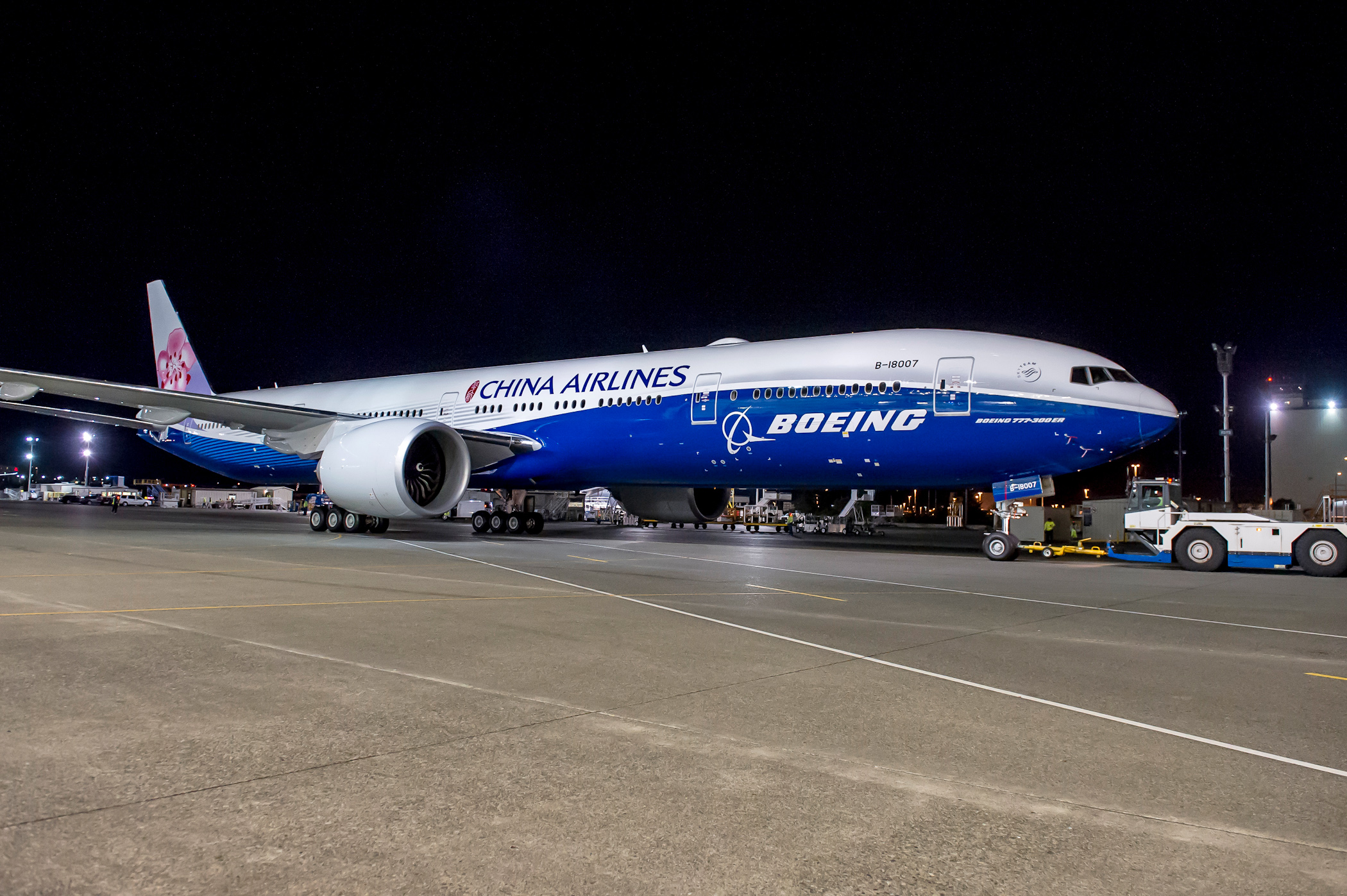 Co-branded 777-300ER China Airlines/Boeing