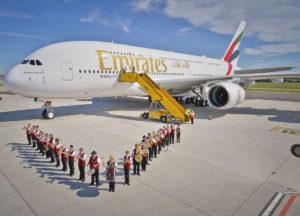 2016 06 24 - Emirates A380 Vienna - 01