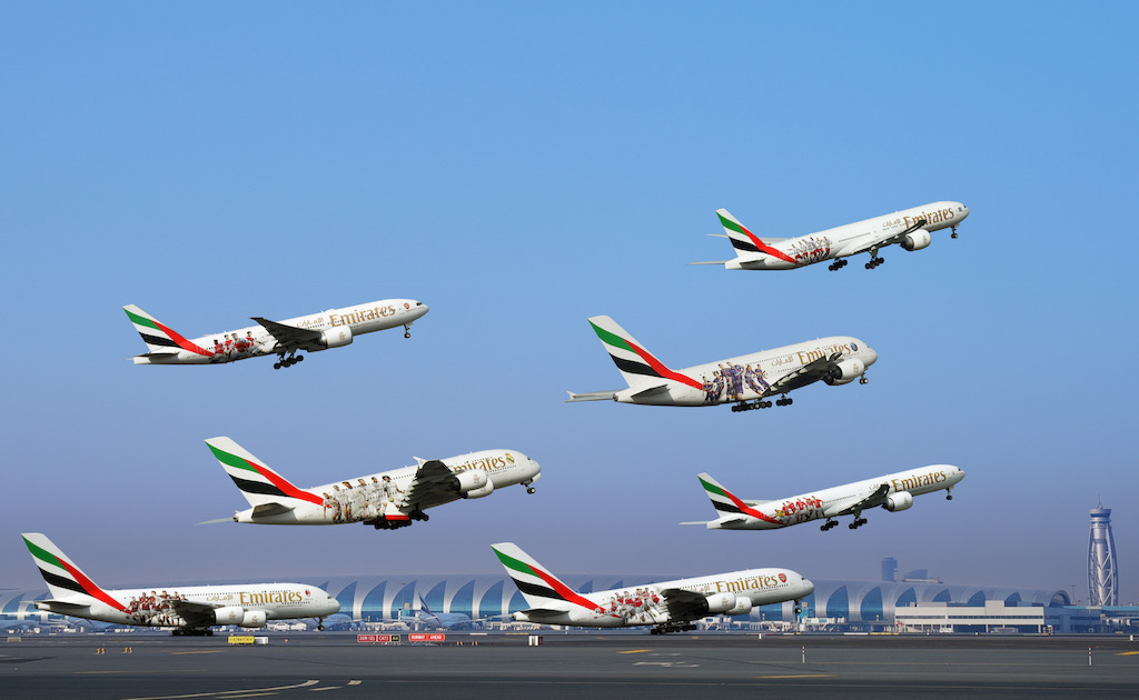 Emirates-Football-Club-themed-Aircraft