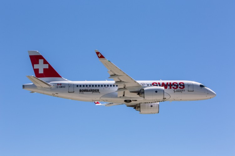 SWISS begins Geneva fleet renewal to Bombardier C Series - Aviation24 be
