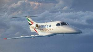 2016 07 26 - Emirates Flight Training Academy Embraer Phenom 01