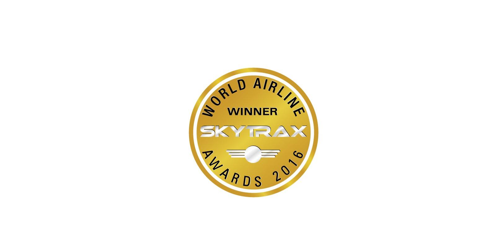 Skytrax winner 2016 logo