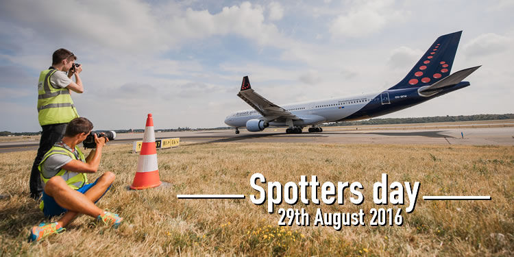 2016 08 10 - Brussels Airport Spottersday 01