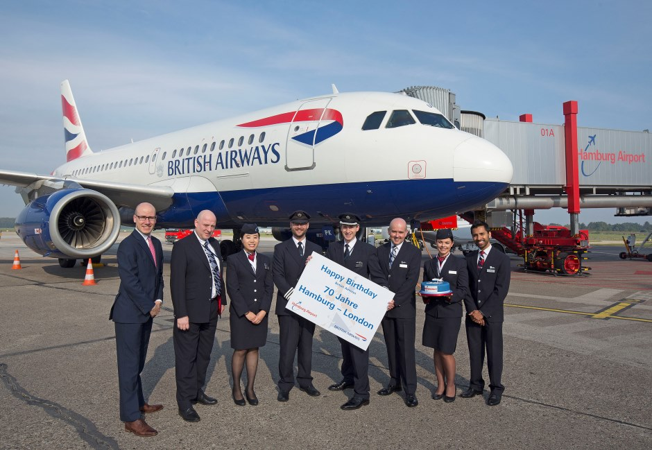 Jubiläum British Airways