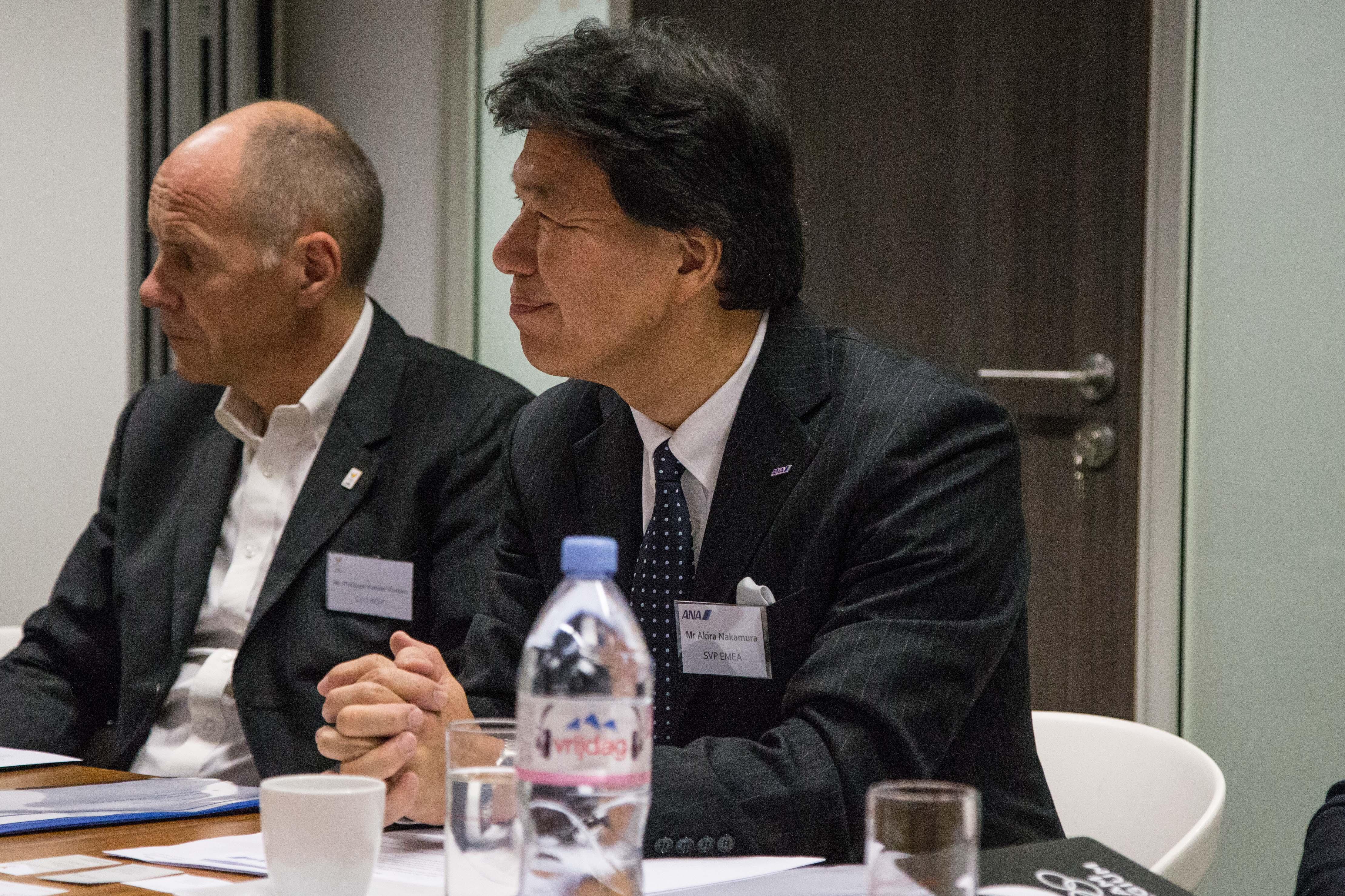 Philippe Vander Putten and Akira Nakamura