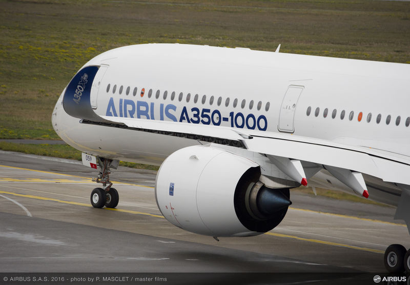 First A350-1000 successfully completes first flight