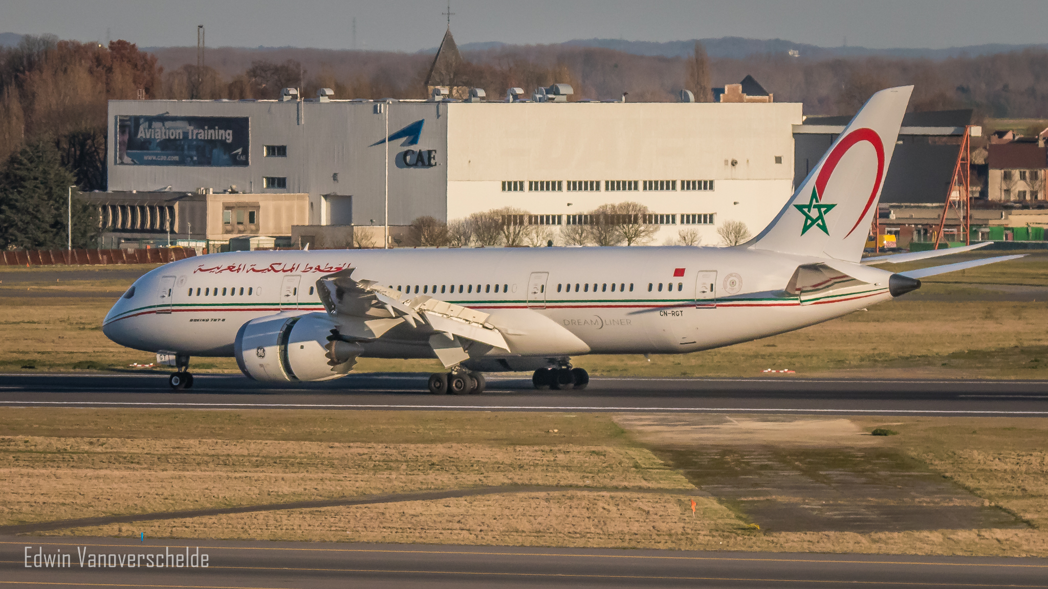 Boeing 787 @ Brussels Airport
