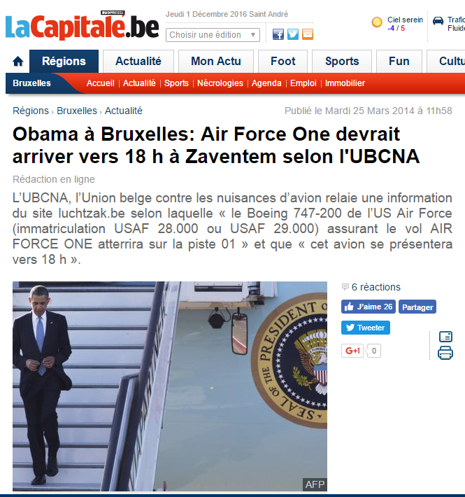 Article La Capitale