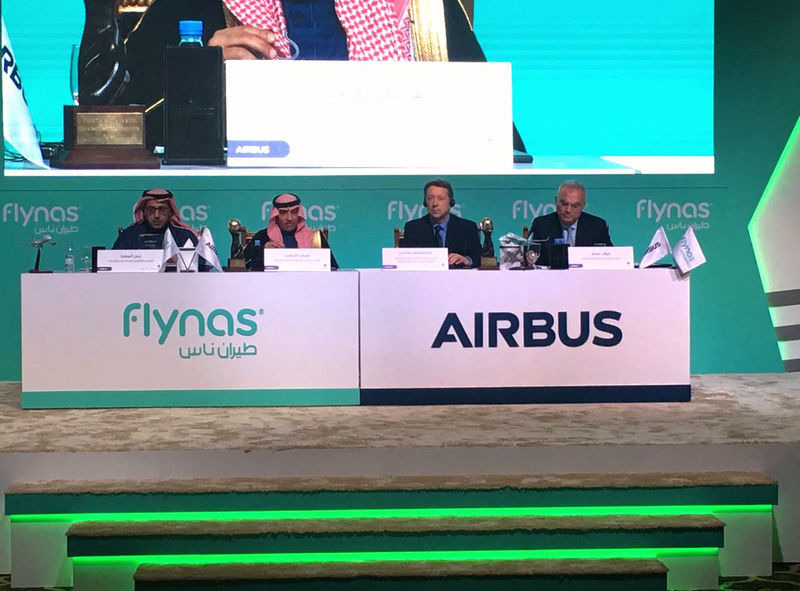 Airbus and Flynas announce order for 60 Airbus A320neo aircraft