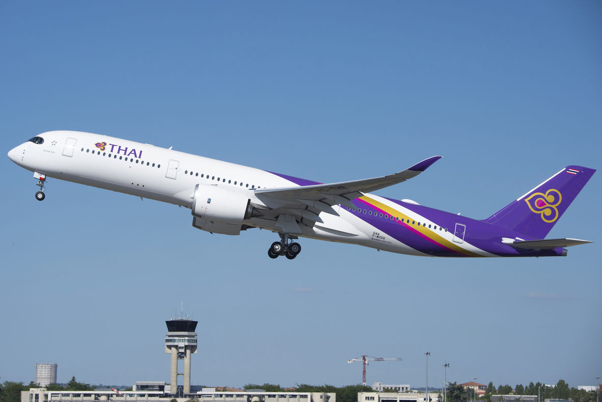 Thai Airways To Operate Airbus A350 Into Brussels Airport