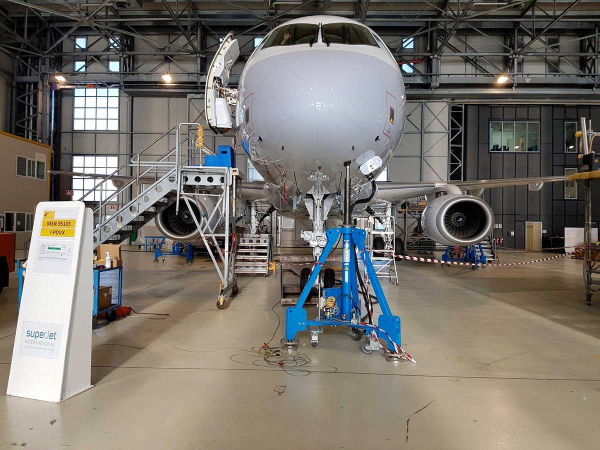 Three CityJet Sukhoi Superjets expected next Saturday at Brussels