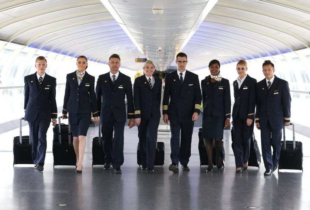 new uniform for cabin and cockpit crew thomas cook group