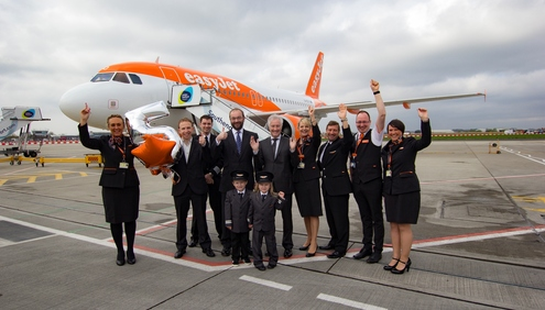 Easyjet Celebrates Five Years At London Southend Aviation24 Be