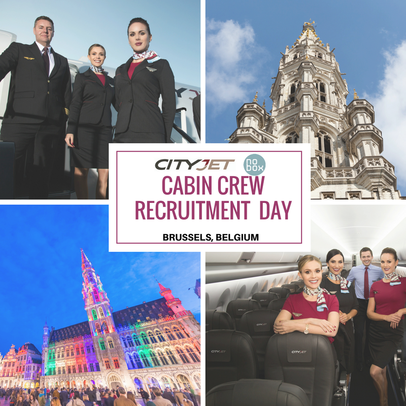 Cityjet is hiring cabin crew members for brussels airport for Cabin crew recruitment 2017