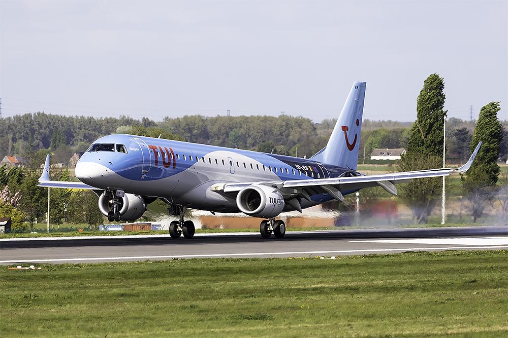TUI Airlines Belgium - Embraer ERJ-190STD
