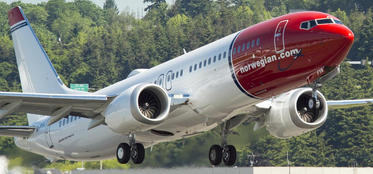Boeing 737 Max Norwegian