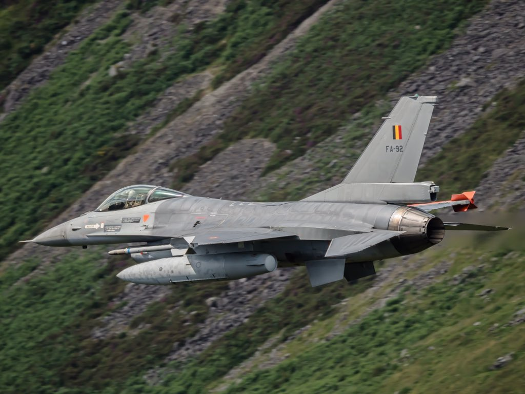 Belgian F-16 Fighters Intercepted Two Russian Air Force Su