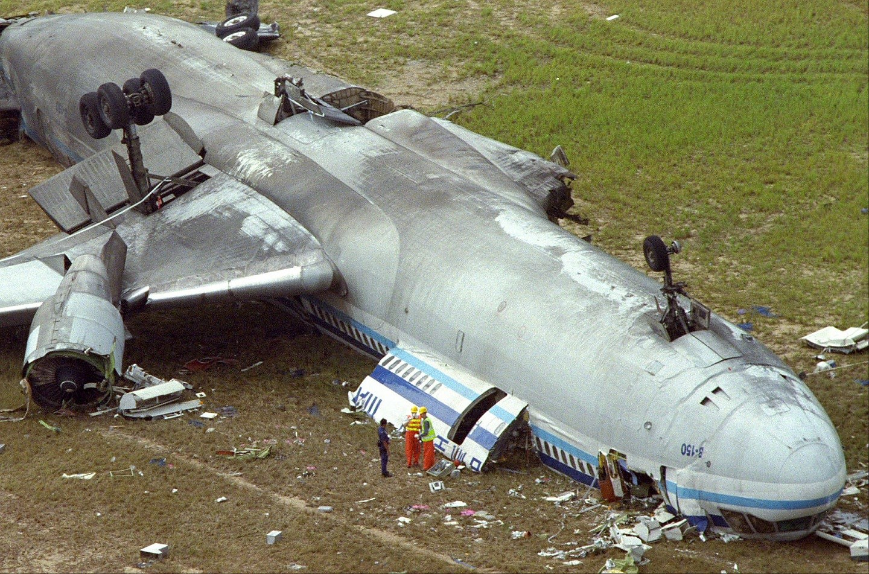 18 Years Ago A China Airlines Md 11 Crashed At Hong Kong