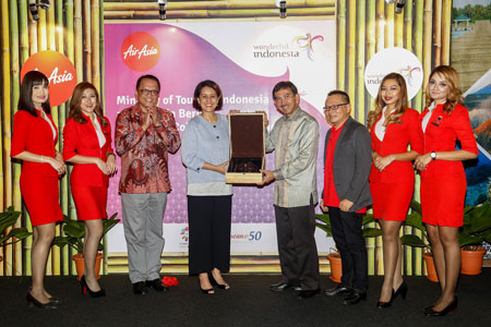 Ministry of Tourism Republic of Indonesia and AirAsia Commemorates Partnership  Aviation24.be