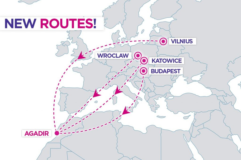 Wizz Air Announces New Routes From Four European Cities To Agadir Morocco Aviation24 Be