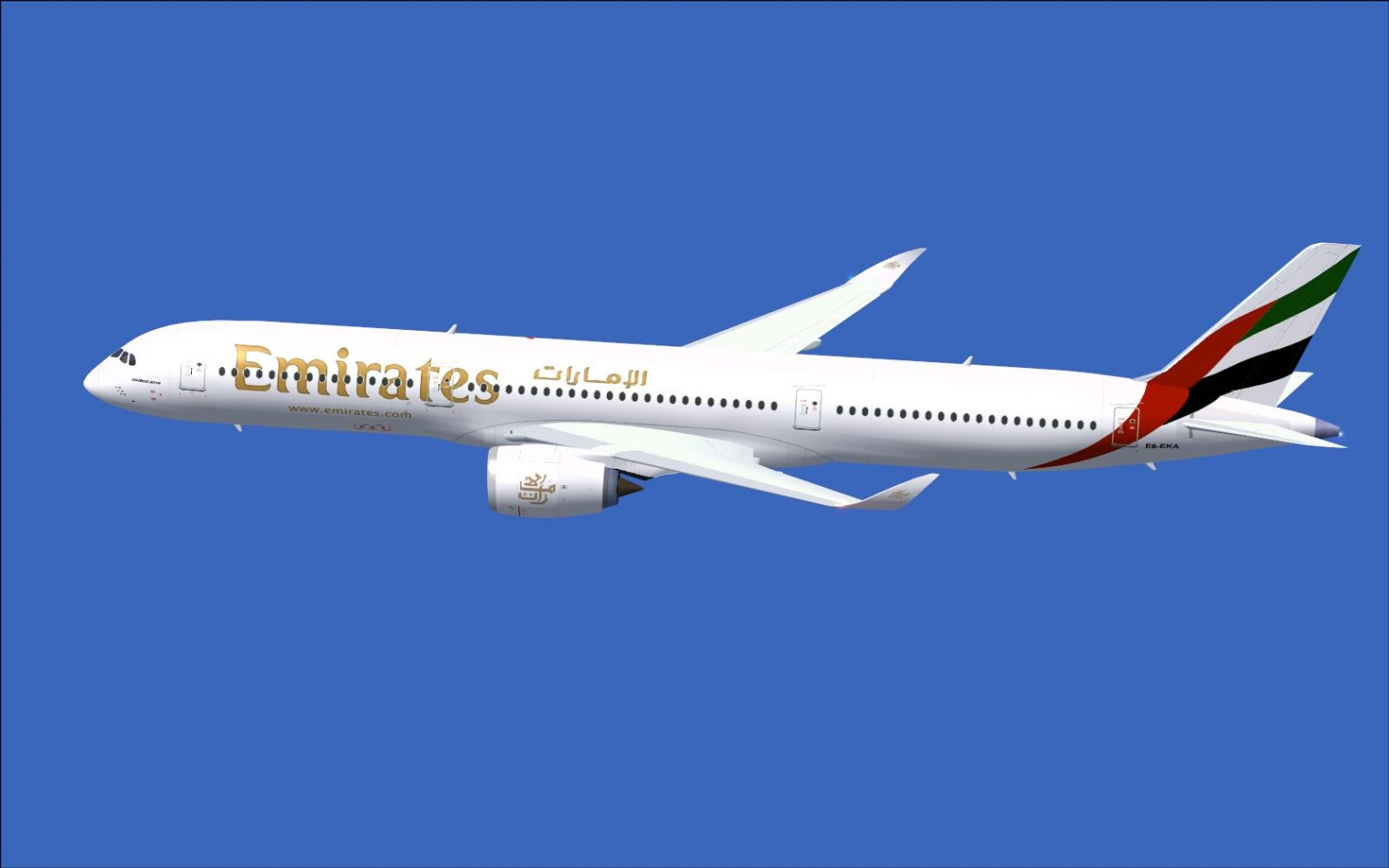 Resultado de imagen para A350 emirates