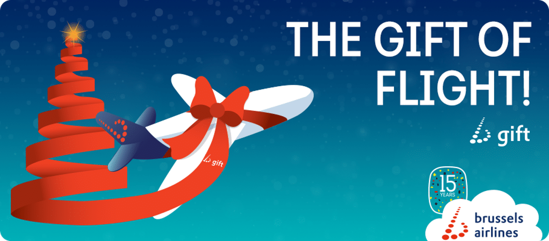 Brussels Airlines launches the b.gift, the travel voucher to put under the Christmas tree. Only this year, the beloved voucher is also available for far ...