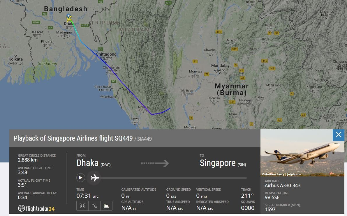 Singapore Airlines flight makes unscheduled landing in Myanmar due ...