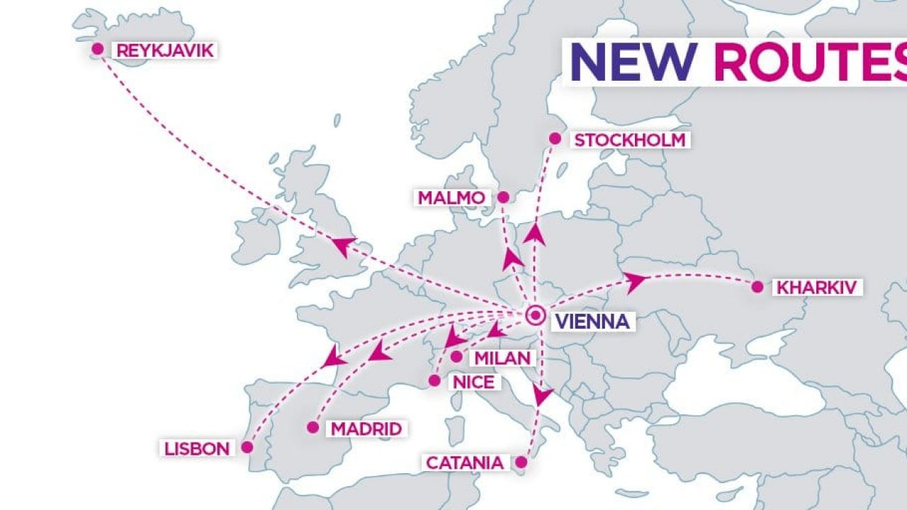 Wizz Air Announces Major Expansion At Vienna Airport Aviation24 Be