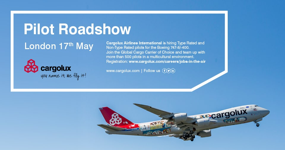 Cargolux (non-)type rated pilots recruitment roadshow at