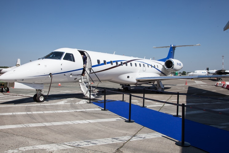 Asl And Jetnetherlands Launch Air Charters Europe With An Embraer