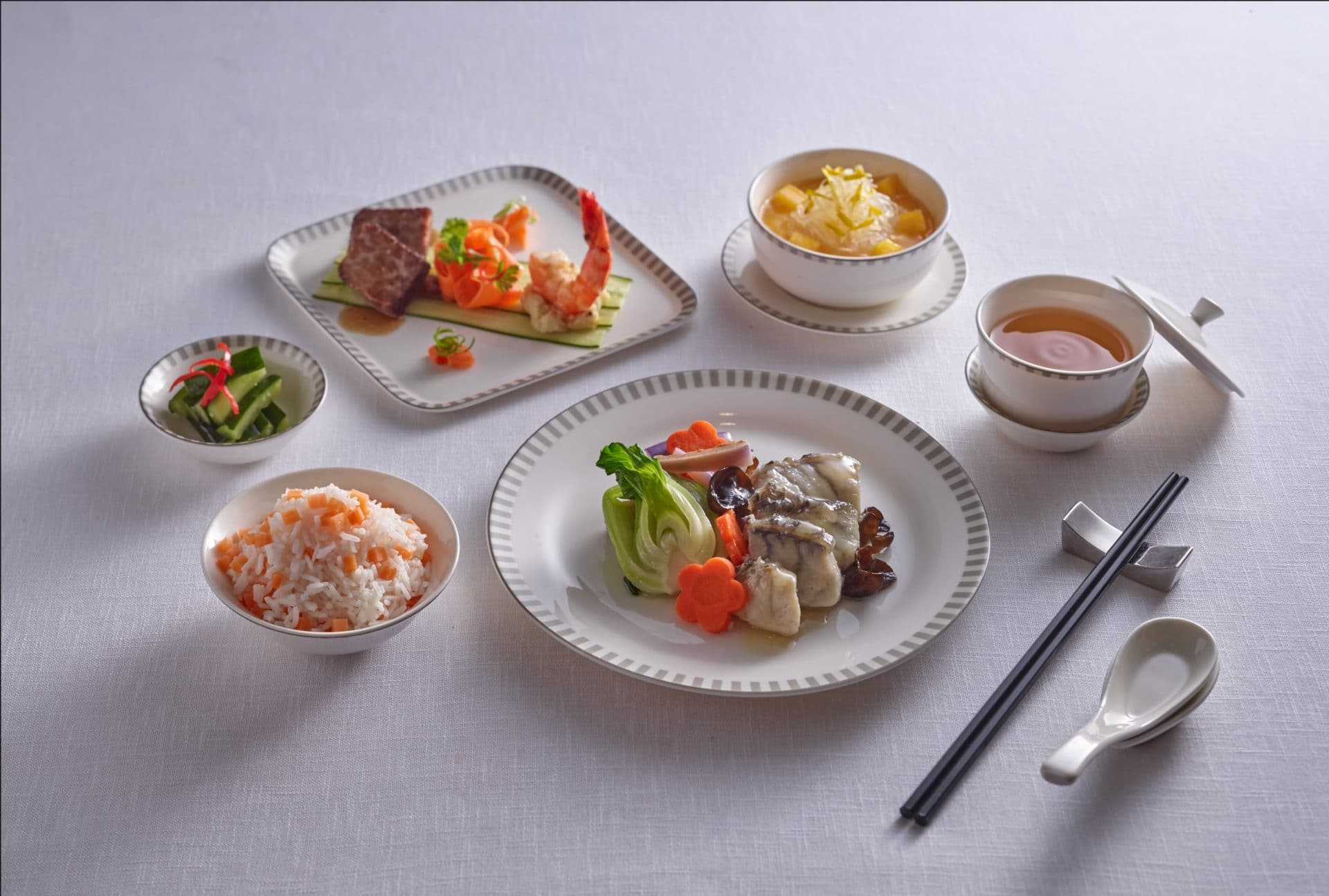 Created By Zhu Jun1, A World Renowned Chef On The Airlines