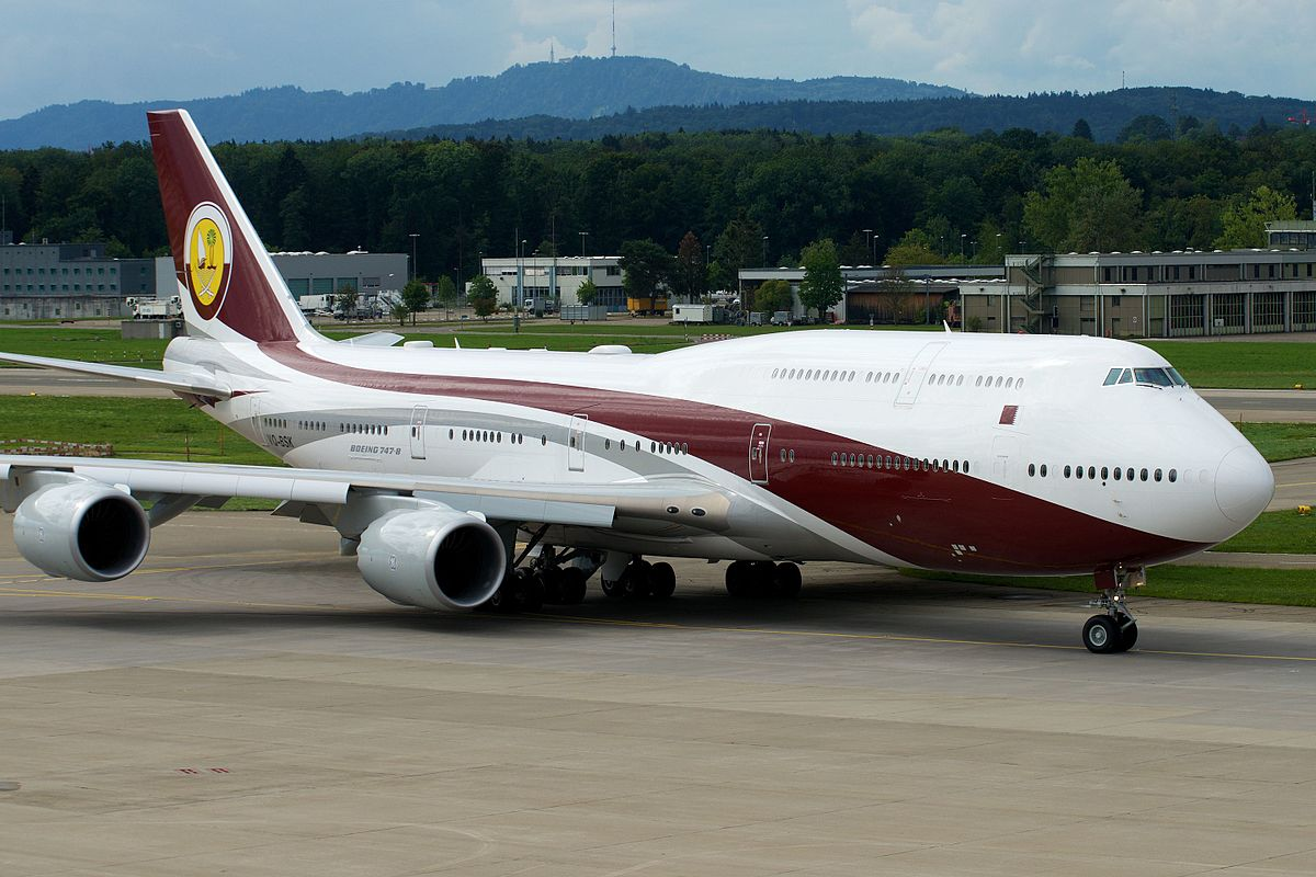 The World S Largest Business Jet A Qatar Amiri Boeing 747