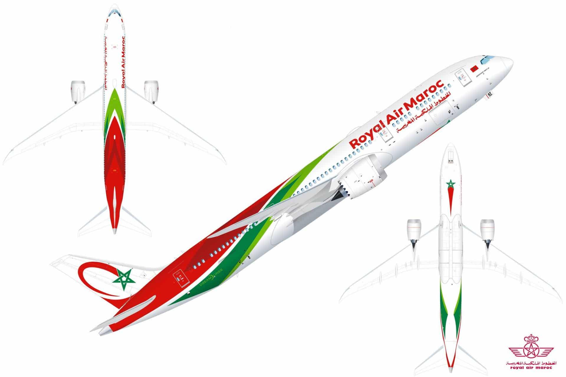 Royal Air Maroc reveals special liveries for first Boeing 787-9