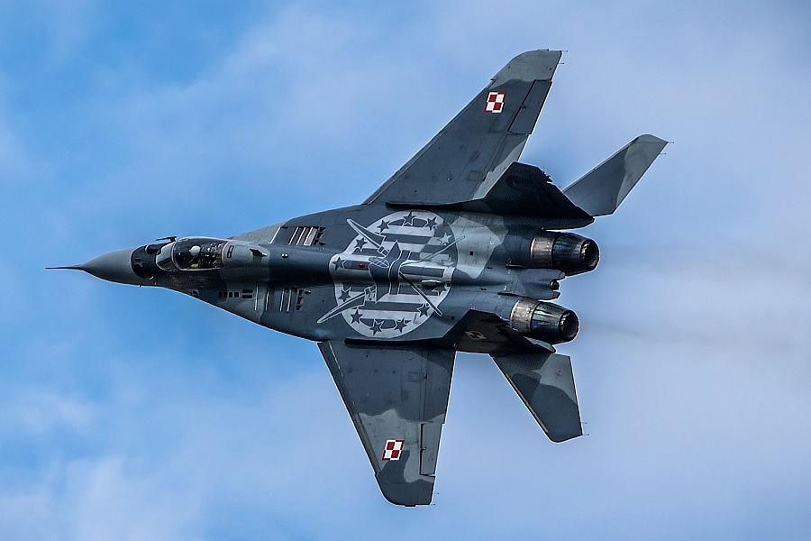 Polish Air Force MiG-29 fighter